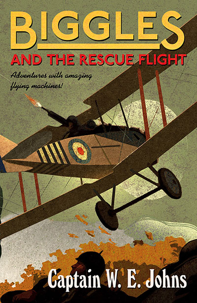 Biggles and the Rescue Flight - Jacket