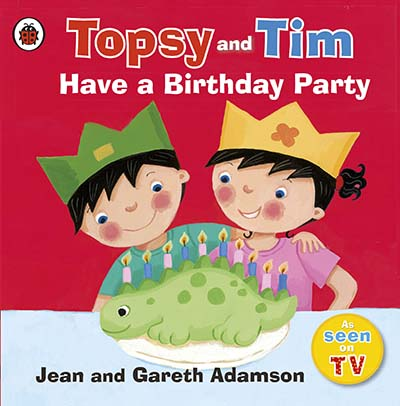 Topsy and Tim: Have a Birthday Party - Jacket