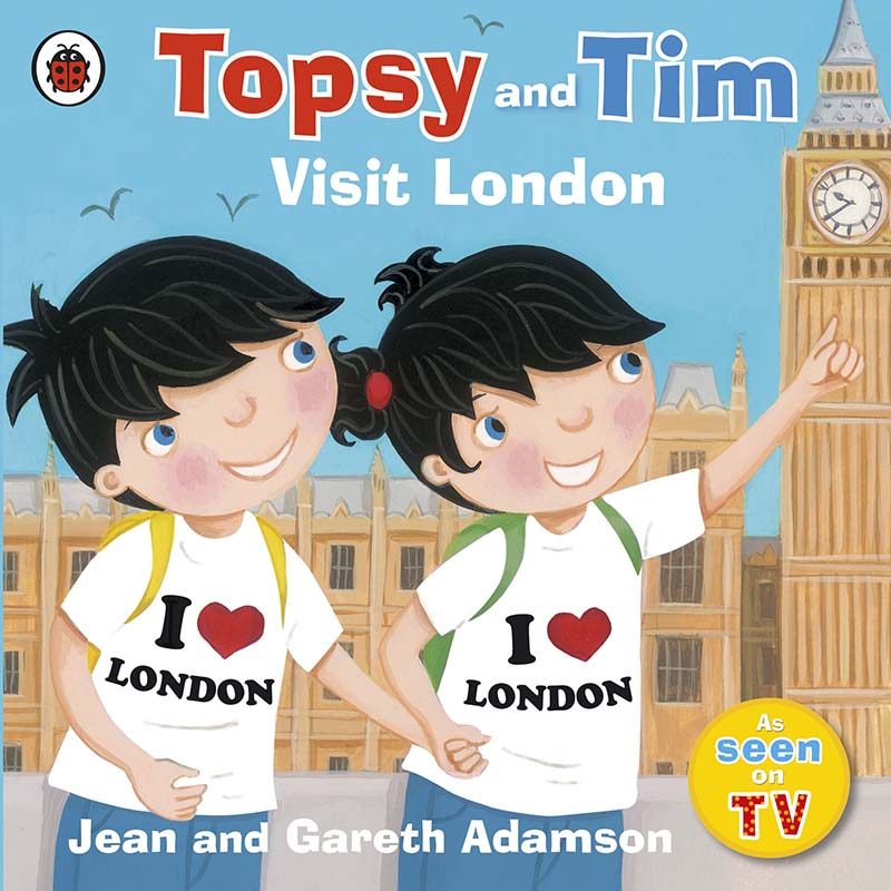 Topsy and Tim: Visit London - Jacket