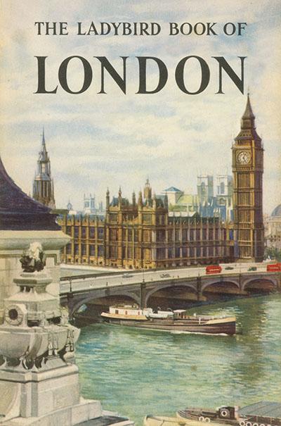 The Ladybird Book of London - Jacket
