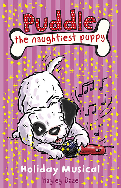 Puddle the Naughtiest Puppy: Holiday Musical: Book 11 - Jacket