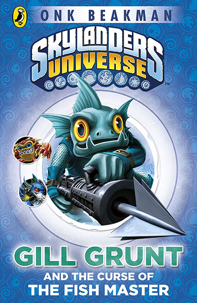 Skylanders Mask of Power: Gill Grunt and the Curse of the Fish Master - Jacket