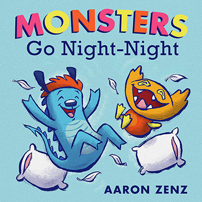 Monsters Go Night-Night - Jacket
