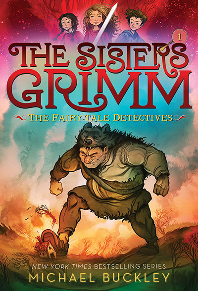 The Fairy-Tale Detectives (The Sisters Grimm #1) - Jacket