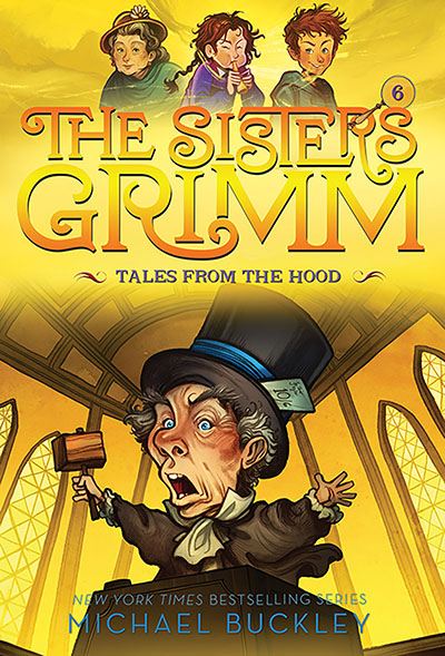 Tales from the Hood (The Sisters Grimm #6) - Jacket