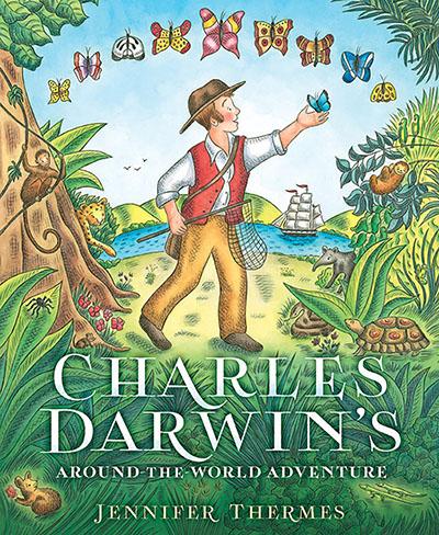 Charles Darwin's Around-the-World Adventure - Jacket