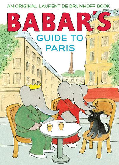 Babar's Guide to Paris - Jacket