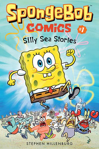 SpongeBob Comics: Book 1 - Jacket