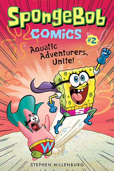 SpongeBob Comics: Book 2 - Jacket