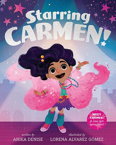 Starring Carmen! - Jacket