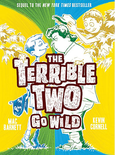 The Terrible Two Go Wild (UK edition) - Jacket