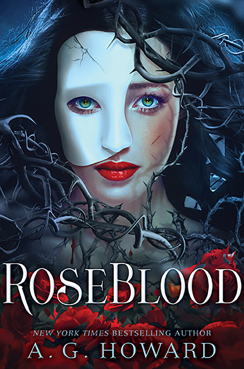 RoseBlood (UK edition) - Jacket