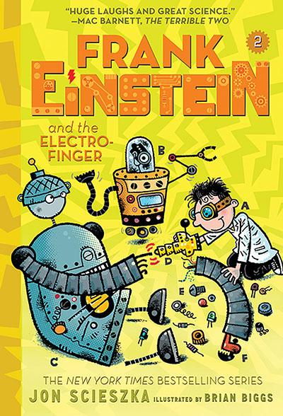 Frank Einstein and the Electro-Finger (Frank Einstein series #2): Book Two - Jacket