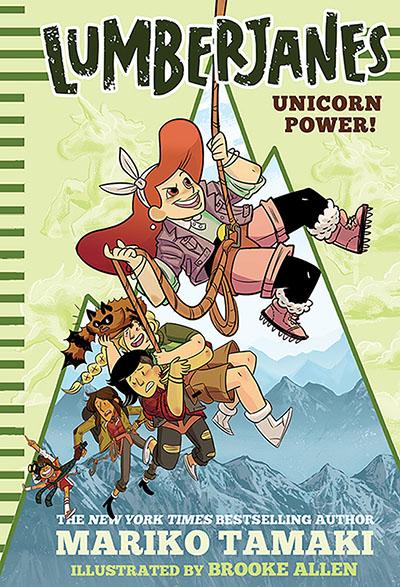 Unicorn Power! (Lumberjanes #1) - Jacket
