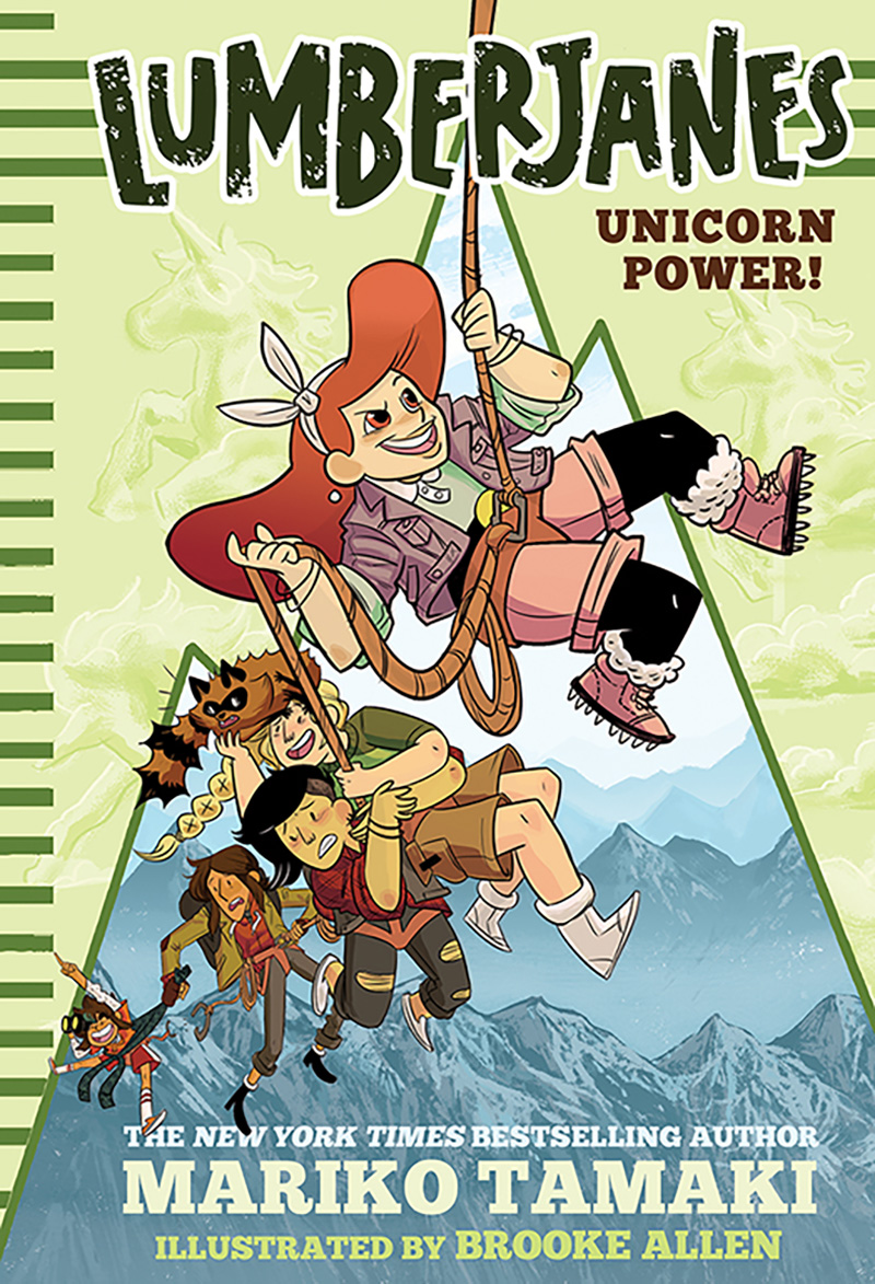 Unicorn Power! (Lumberjanes #1) - Jacket