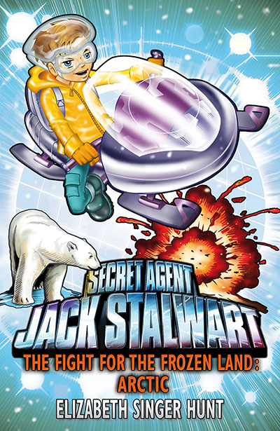 Jack Stalwart: The Fight for the Frozen Land - Jacket