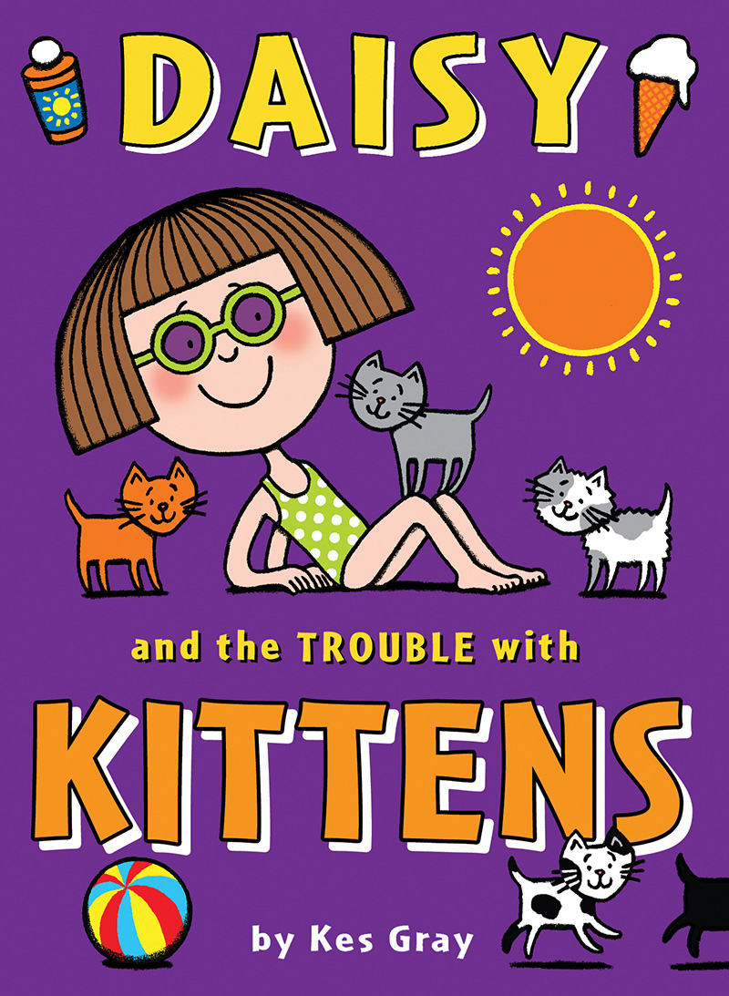Daisy and the Trouble with Kittens - Jacket
