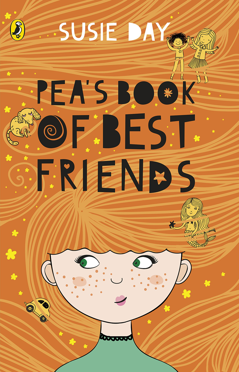 Pea's Book of Best Friends - Jacket