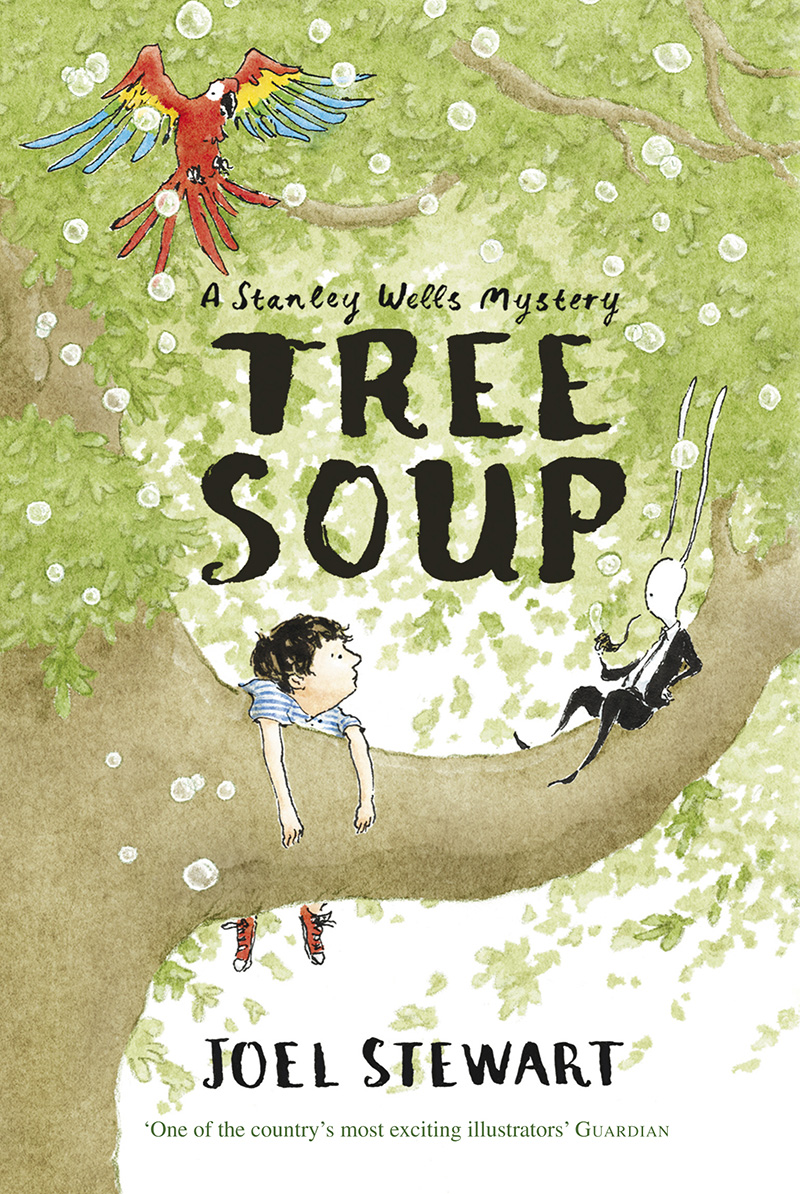 Tree Soup: A Stanley Wells Mystery - Jacket