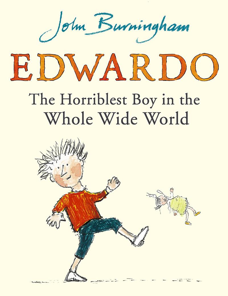 Edwardo the Horriblest Boy in the Whole Wide World - Jacket