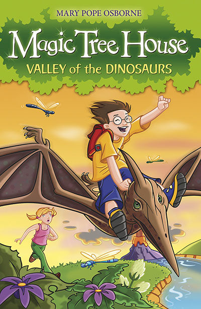 Magic Tree House 1: Valley of the Dinosaurs - Jacket