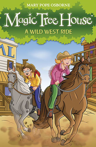 Magic Tree House 10: A Wild West Ride - Jacket