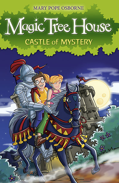 Magic Tree House 2: Castle of Mystery - Jacket