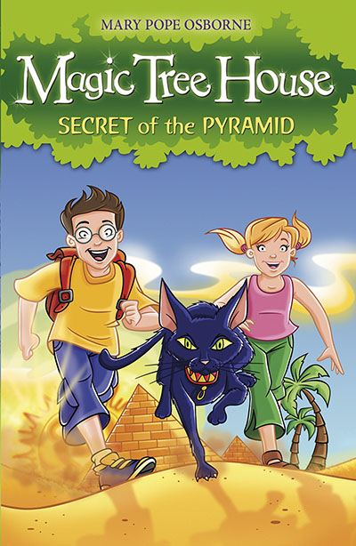 Magic Tree House 3: Secret of the Pyramid - Jacket