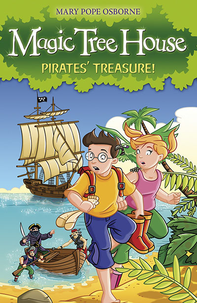 Magic Tree House 4: Pirates' Treasure! - Jacket