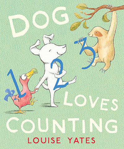 Dog Loves Counting - Jacket