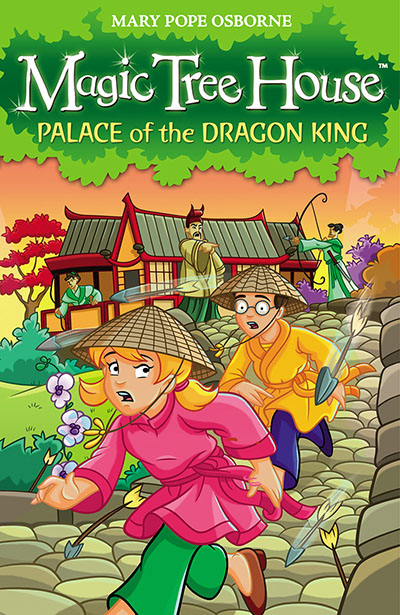 Magic Tree House 14: Palace of the Dragon King - Jacket