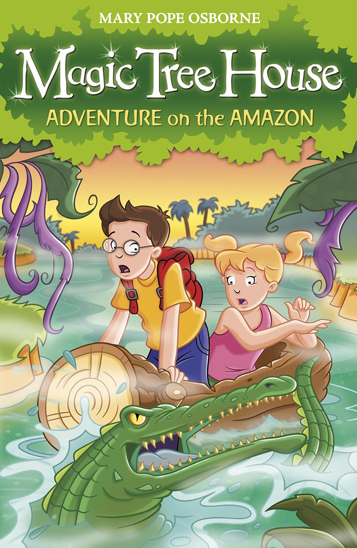 Magic Tree House 6: Adventure on the Amazon - Jacket