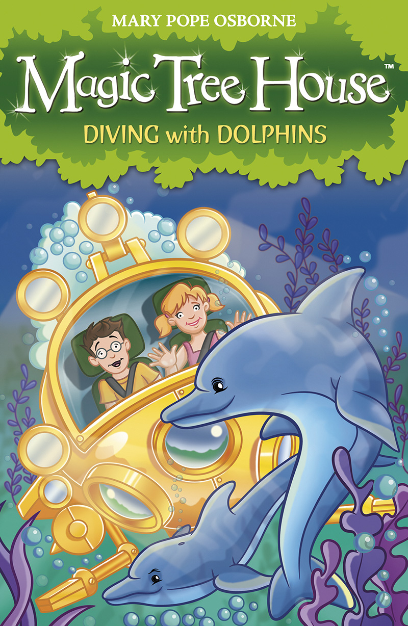 Magic Tree House 9: Diving with Dolphins - Jacket