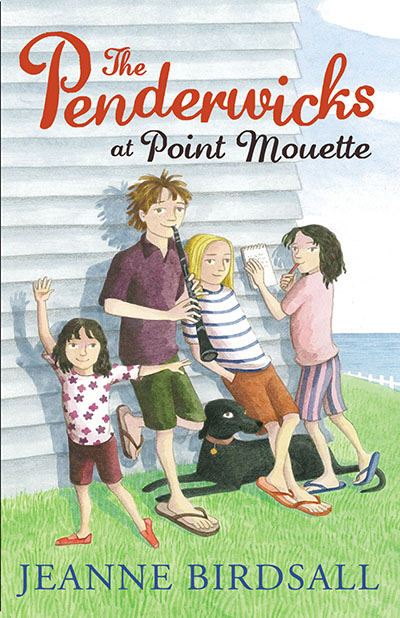 The Penderwicks at Point Mouette - Jacket