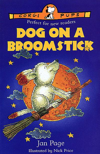 Dog On A Broomstick - Jacket