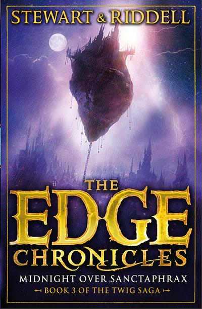 The Edge Chronicles 6: Midnight Over Sanctaphrax - Jacket