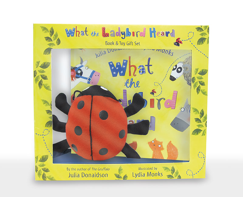 What the Ladybird Heard Book and Plush box set - Jacket