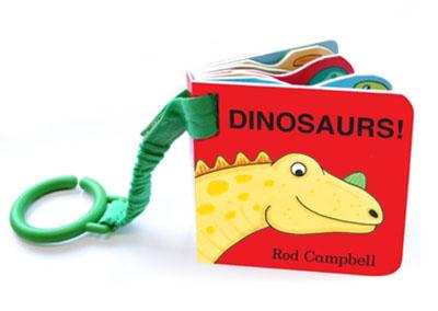 Dinosaur Shaped Buggy Book - Jacket