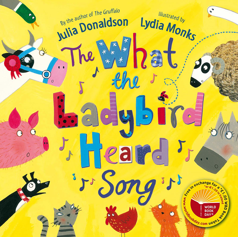 The  What the Ladybird Heard Song x50 - Jacket