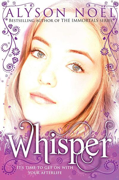 A Riley Bloom Novel: Whisper - Jacket