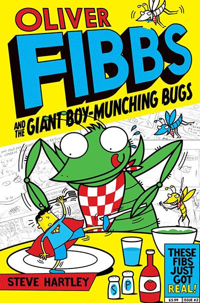 The Giant Boy-Munching Bugs - Jacket