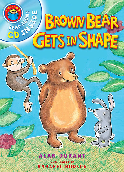 I Am Reading with CD: Brown Bear Gets In Shape - Jacket