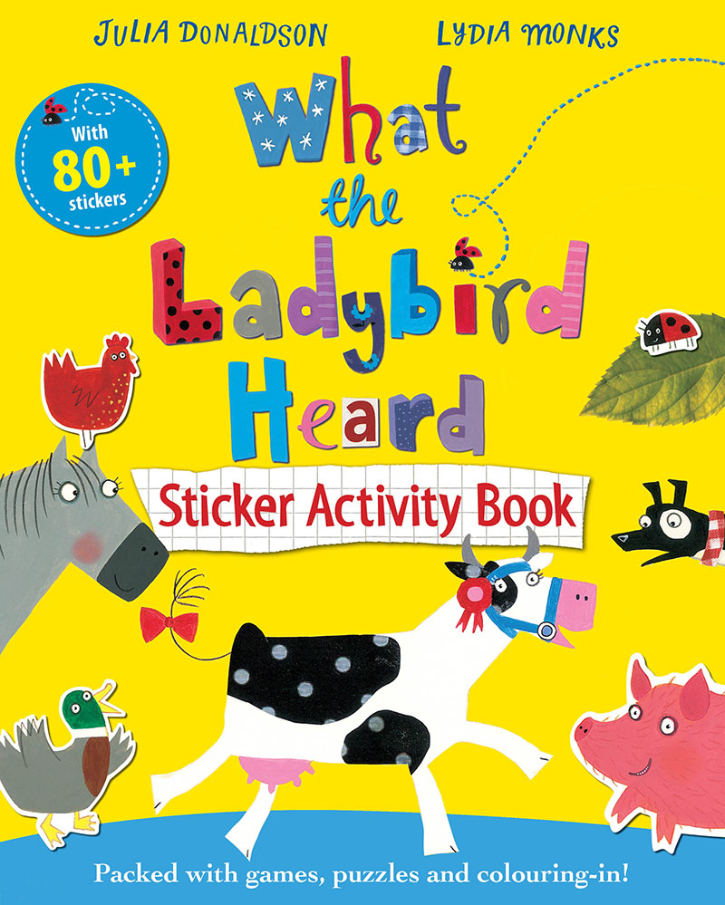 What the Ladybird Heard Sticker Activity Book - Jacket