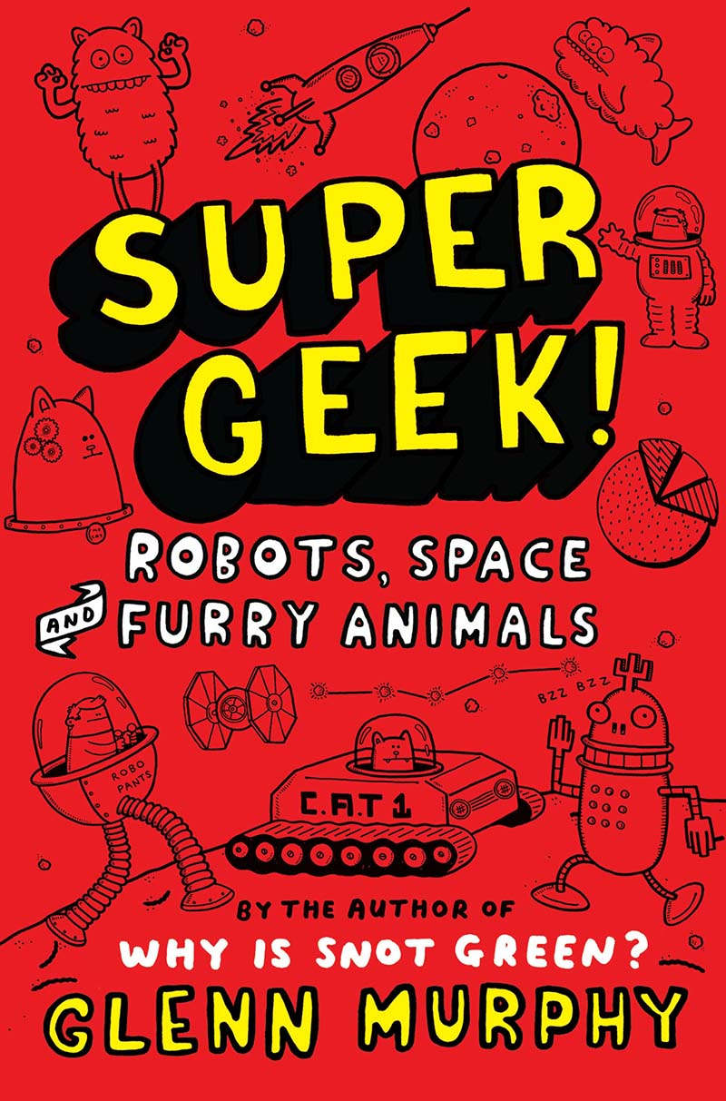 Supergeek 2: Robots, Space and Furry Animals - Jacket