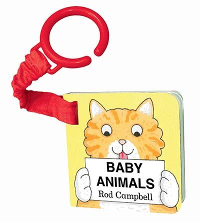 Baby Animals Shaped Buggy Book - Jacket