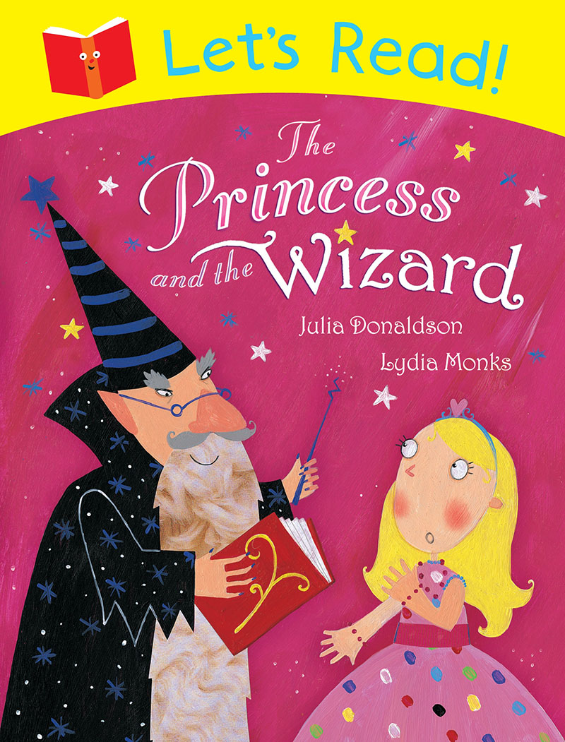 Let's Read! The Princess and the Wizard - Jacket