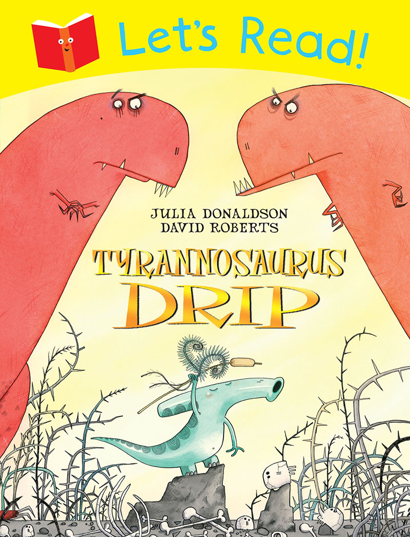 Let's Read! Tyrannosaurus Drip - Jacket