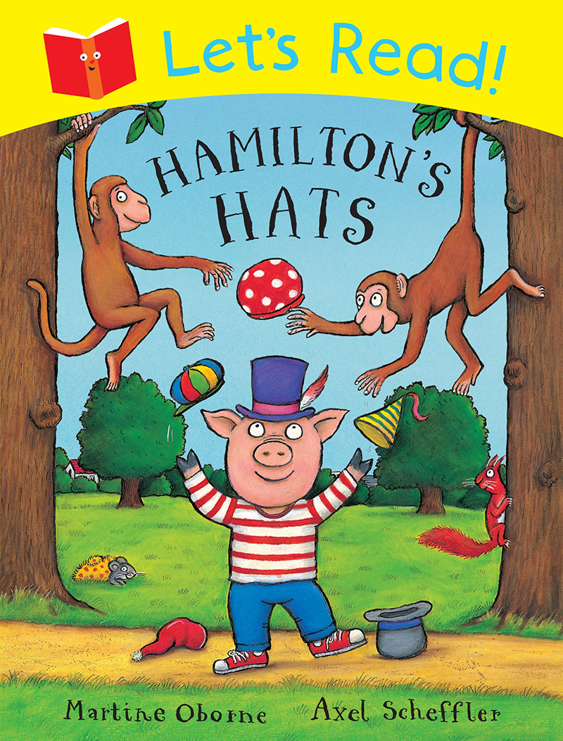 Let's Read! Hamilton's Hats - Jacket