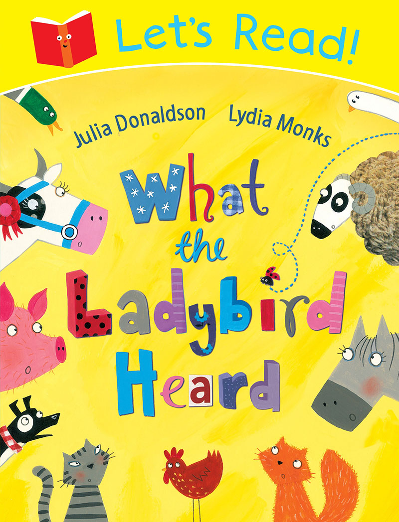Let's Read! What the Ladybird Heard - Jacket