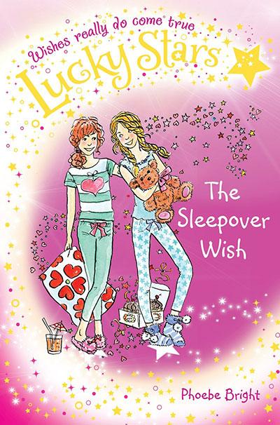 Lucky Stars 8: The Sleepover Wish - Jacket